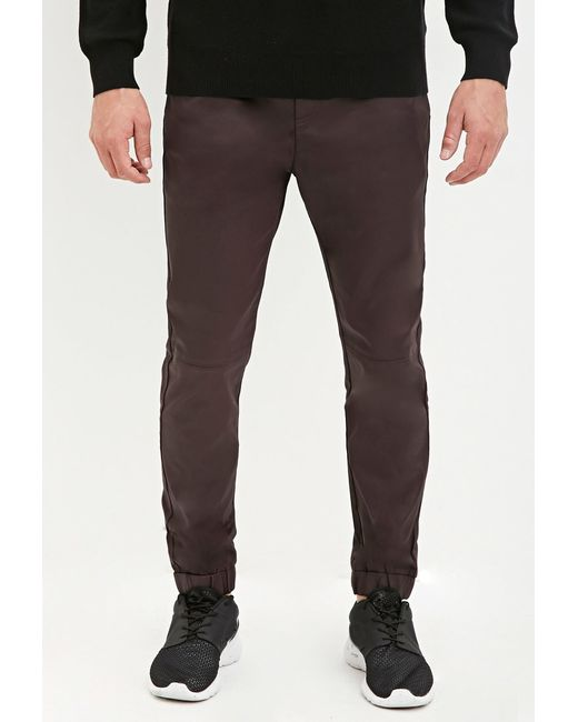 Forever 21 | Purple Coated Chino Joggers for Men | Lyst
