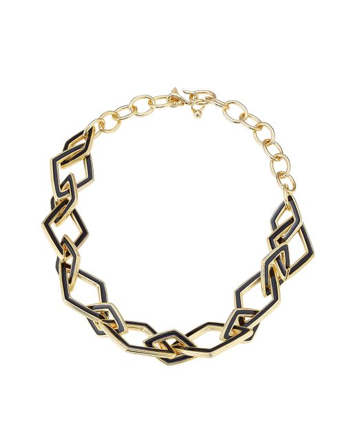 Kenneth Jay Lane | Metallic Statement Necklace | Lyst