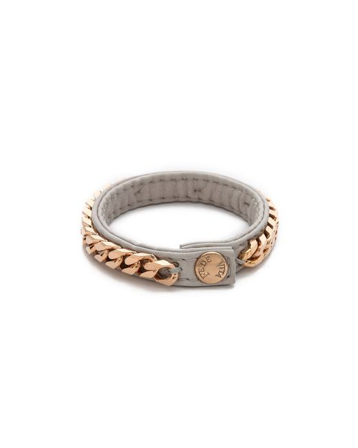 Vita Fede | Gray Monaco Single Bracelet | Lyst