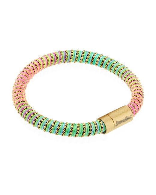 Carolina Bucci | Multicolor Neon Twister Bracelet Yellow Gold | Lyst