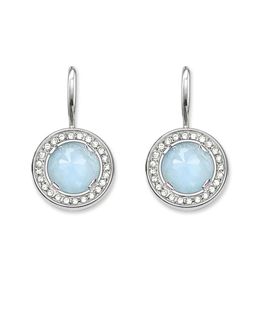 Thomas Sabo | Blue Light Of Luna Milky Aqua Earrings | Lyst