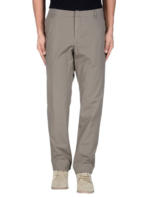 Dondup | Natural Casual Pants for Men | Lyst