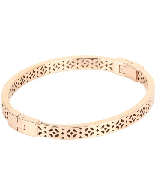 Fossil | Pink Iconic Signature Pattern Bracelet | Lyst