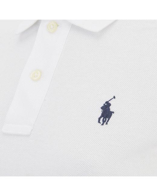 Polo Ralph Lauren | White Custom Fit Big Pony Polo Shirt for Men | Lyst