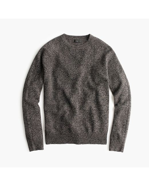 J.Crew | Gray Slim Marled Lambswool Sweater for Men | Lyst