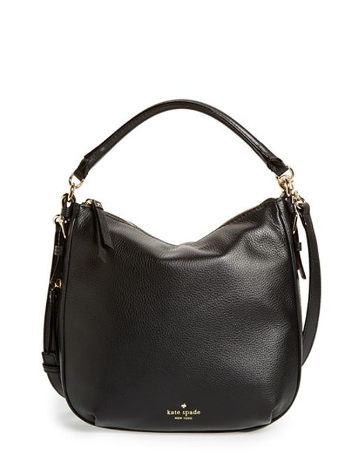 Kate Spade | Black 'cobble Hill - Small Ella' Leather Satchel | Lyst
