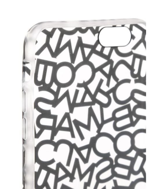 Marc By Marc Jacobs | Black Printed Phone Case For Galaxy S4 | Lyst
