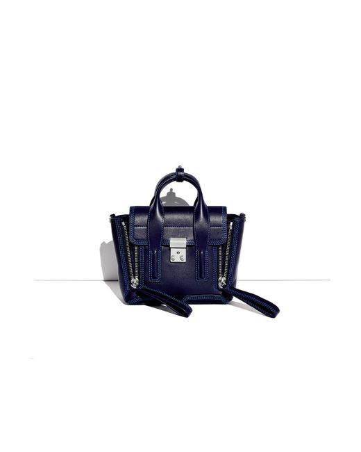 3.1 Phillip Lim | Blue Pashli Mini Satchel | Lyst