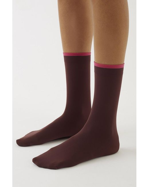 3.1 Phillip Lim | Red Falke Fine Socks | Lyst