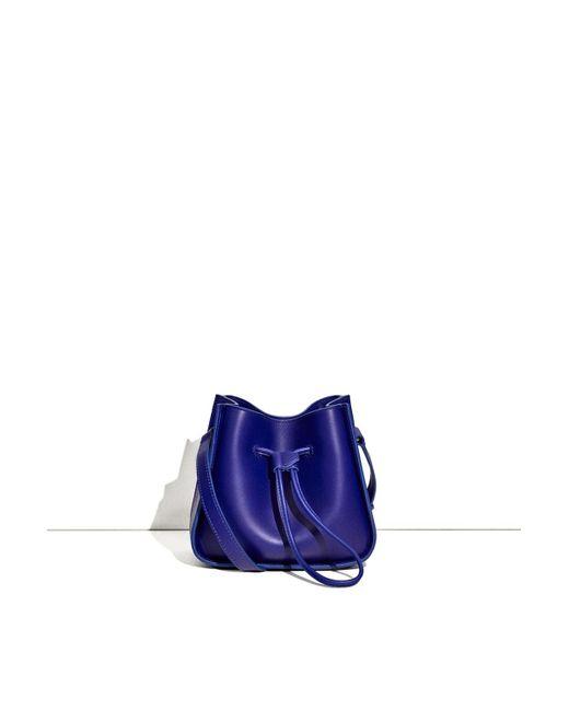 3.1 Phillip Lim - Blue Soleil Mini Bucket - Lyst