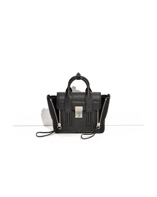 3.1 Phillip Lim - Black Pashli Mini Satchel - Lyst