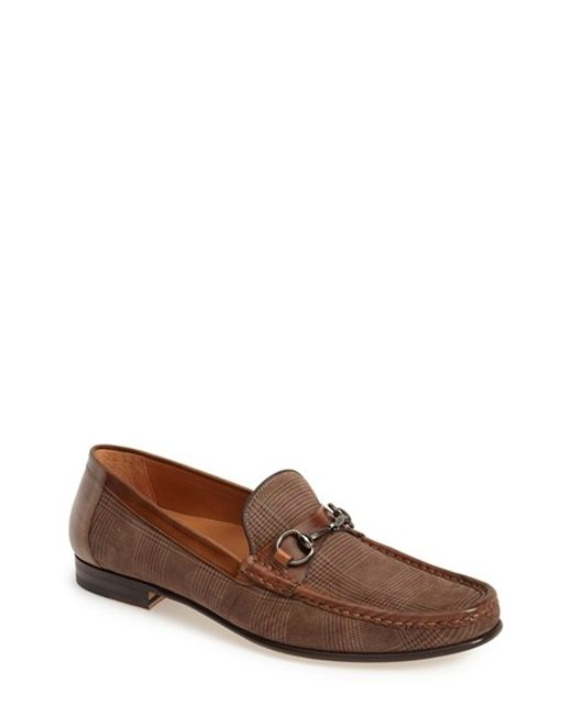 Mezlan | Brown 'salinas' Bit Loafer for Men | Lyst