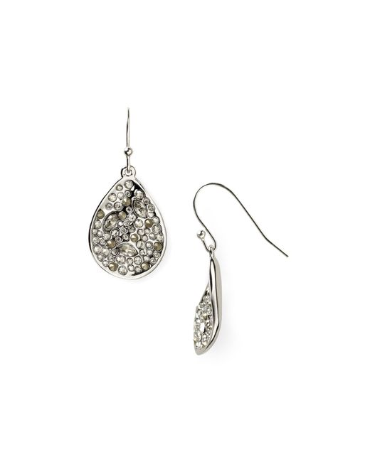 Alexis Bittar | Metallic Miss Havisham Crystal Encrusted Drop Earrings | Lyst