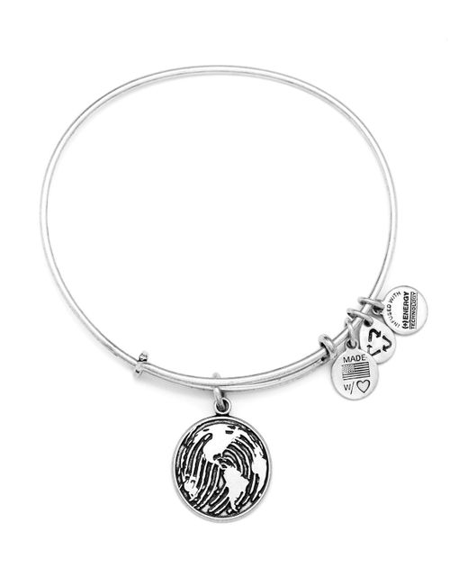 ALEX AND ANI   Metallic Make Your Mark Expandable Wire Bangle, Charity By Design Collection   Lyst
