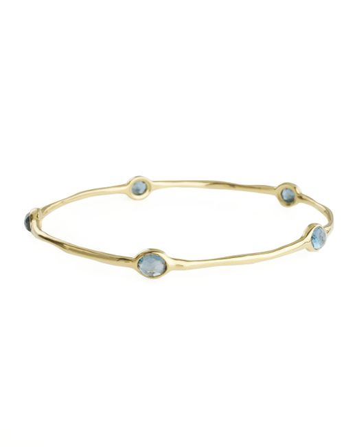 Ippolita | Blue Five-stone Bangle | Lyst