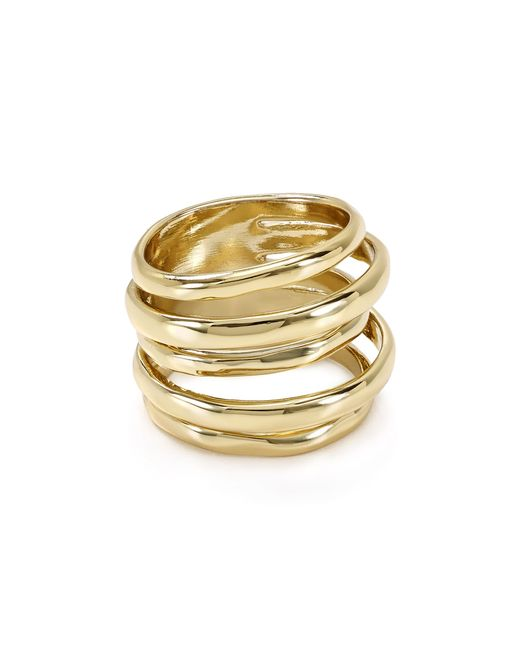 Alexis Bittar | Metallic Miss Havisham Layered Ring | Lyst