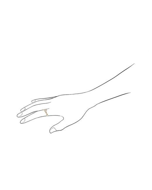 Sydney Evan | Metallic Yellow Gold Love Ring | Lyst