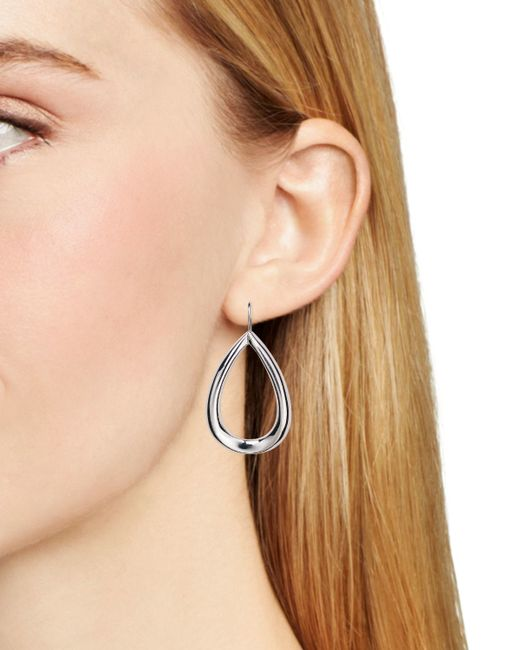 Pink Pony | Metallic Lauren Drop Earrings | Lyst