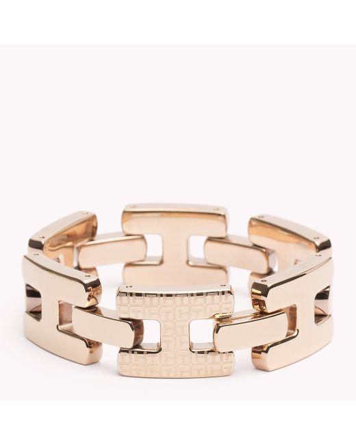 Tommy Hilfiger | Pink Signature Bracelet | Lyst