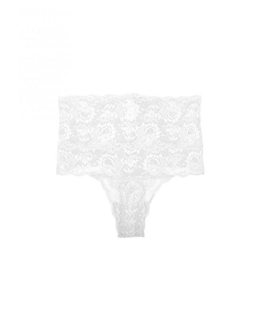 Cosabella   White Never Say Never High Rise Thong   Lyst