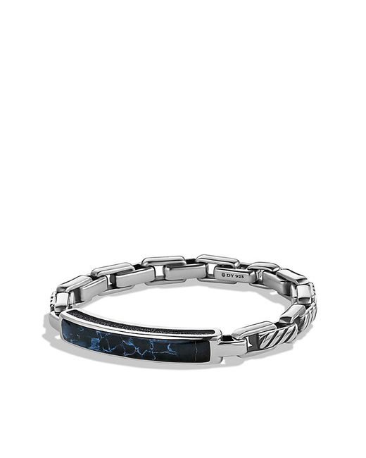 David Yurman | Metallic Modern Cable Id Bracelet With Pietersite for Men | Lyst