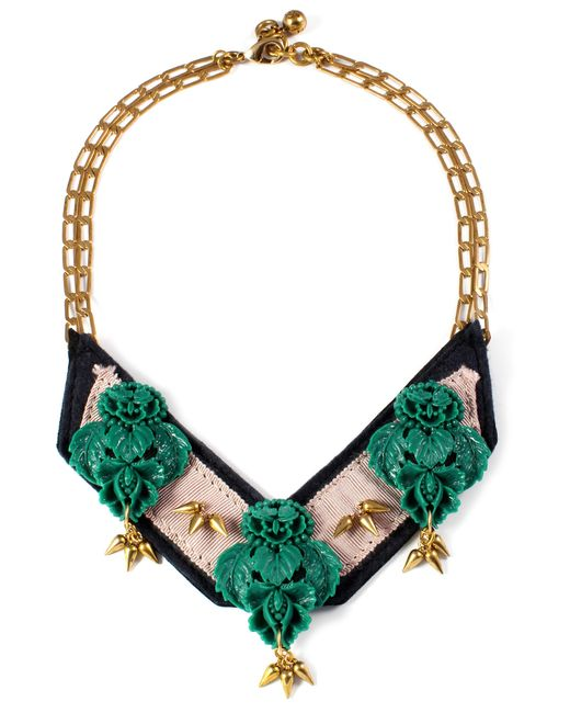 Lulu Frost | Multicolor Katharine Bib Necklace | Lyst