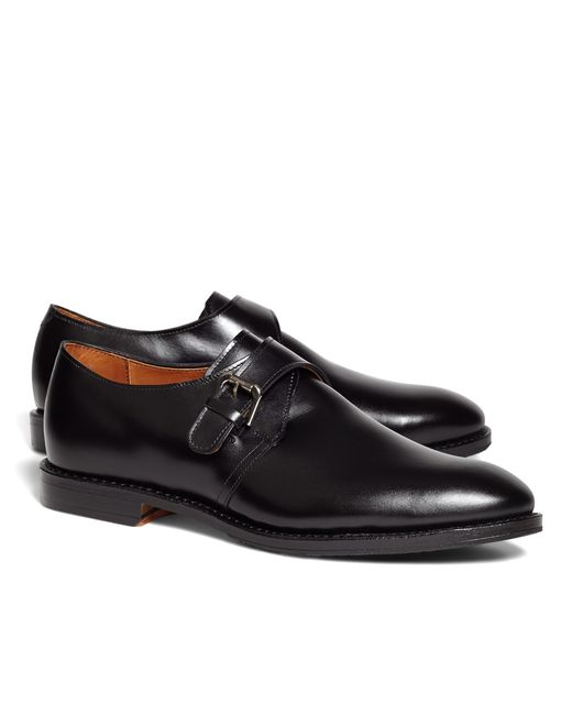 Brooks Brothers | Black Monk Straps for Men | Lyst