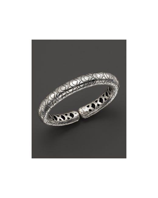 John Hardy | Metallic Women's Sterling Silver Naga Slim Flex Cuff | Lyst
