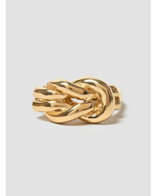 Odette New York | Metallic Lovers Knot Ring Brass | Lyst