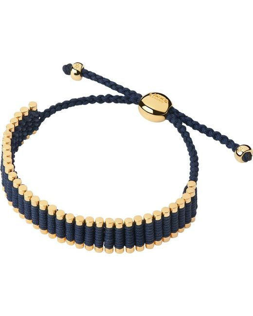 Links of London | Blue 18Ct Yellow Gold Friendship Bracelet | Lyst