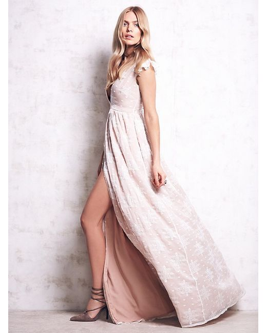 Free People   White Ethereal Whispers   Lyst
