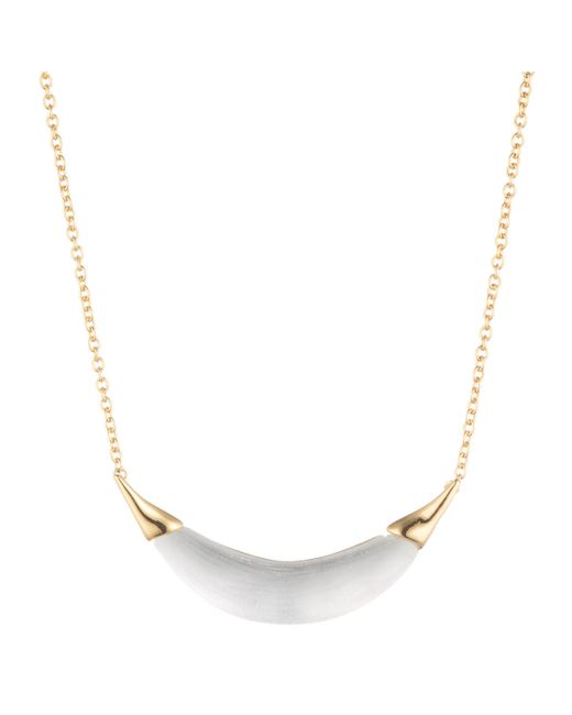 Alexis Bittar | Metallic Gold Capped Crescent Pendant You Might Also Like | Lyst