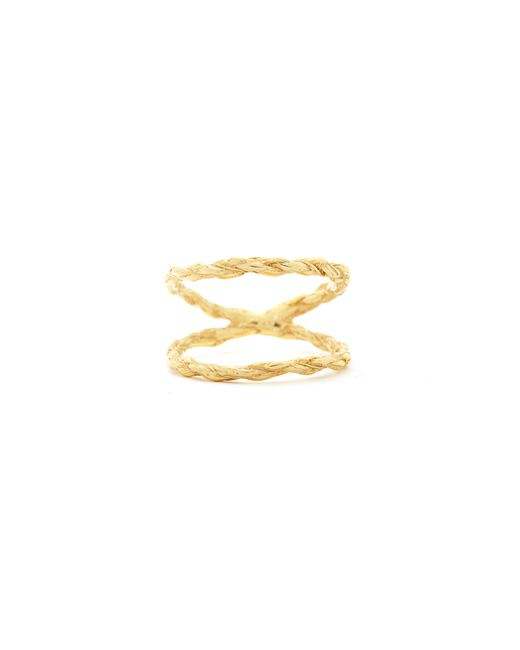 Chupi | Metallic We Are Twice As Strong Together Ring Gold | Lyst