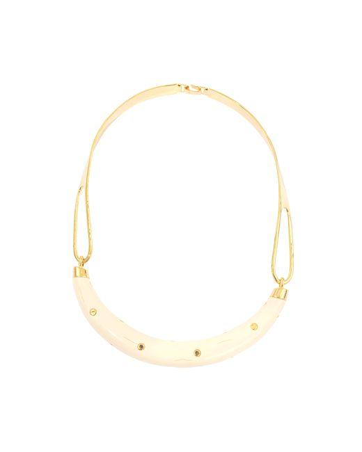 Aurelie Bidermann   Metallic Studded Caftan Moon Necklace   Lyst