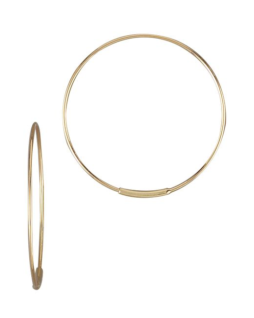 Lana Jewelry | Metallic Small Magic Hoops | Lyst
