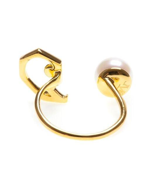 Leivan Kash | Metallic 'nia' Ring | Lyst