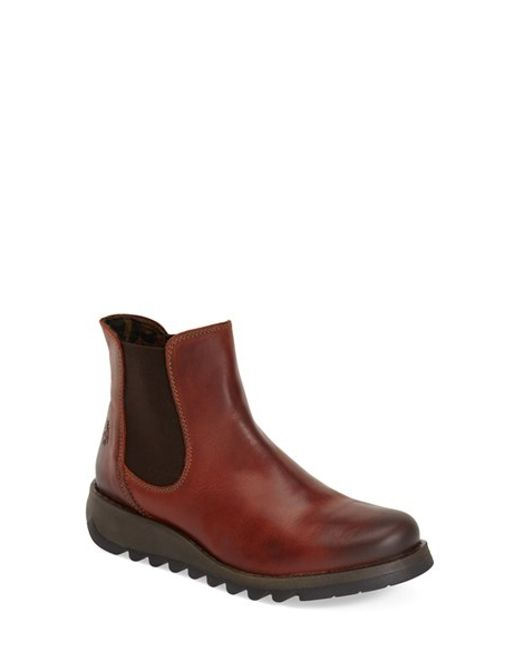 Fly London   Brown 'salv' Chelsea Boot   Lyst