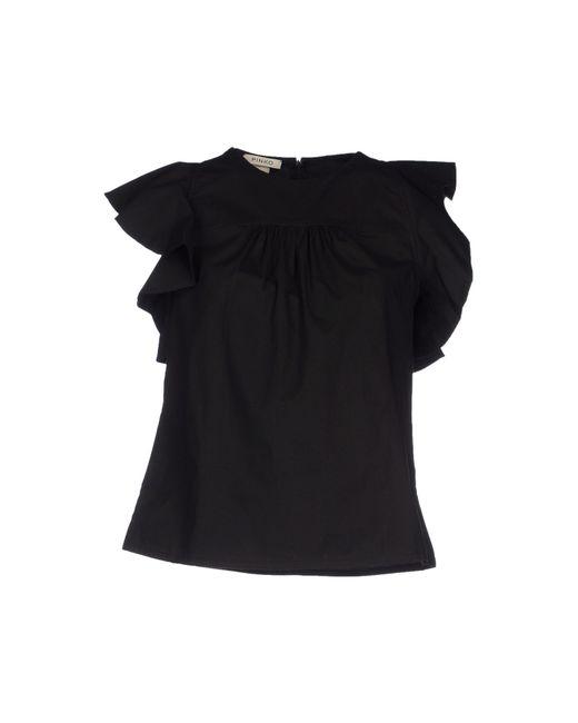 Pinko | Black T-shirt | Lyst