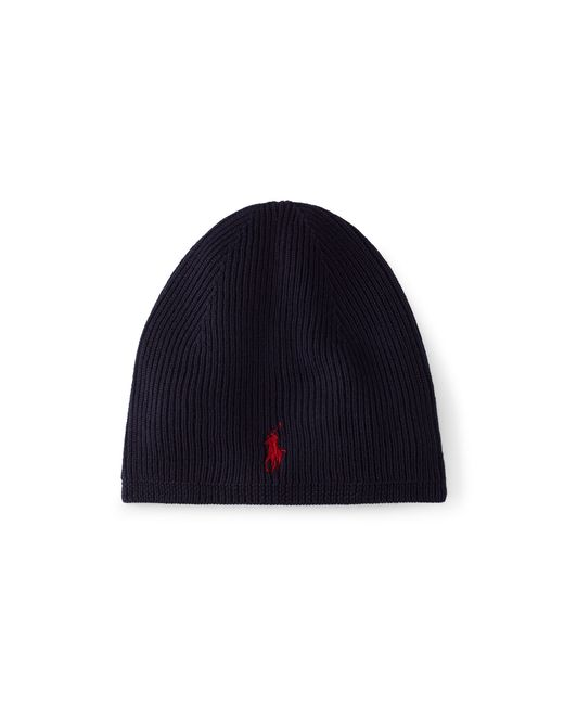 Polo Ralph Lauren | Blue Merino Wool Skull Cap for Men | Lyst