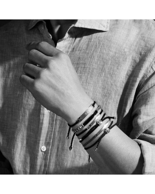 Monica Vinader   Black Havana Mens Bracelet for Men   Lyst