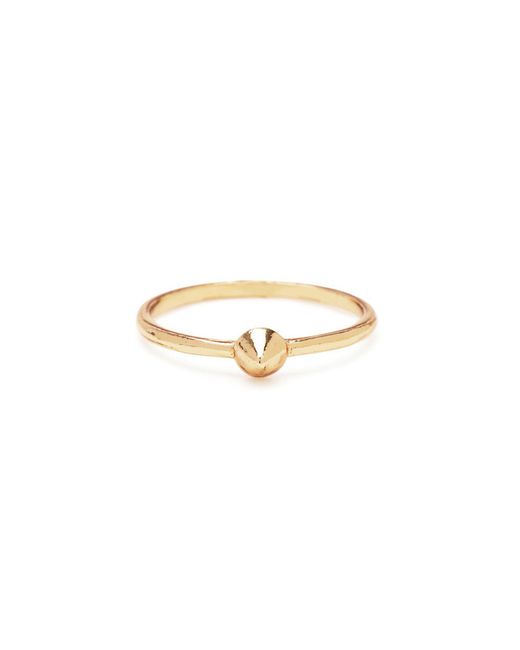 Bing Bang | Metallic Tiny Vivienne Ring | Lyst