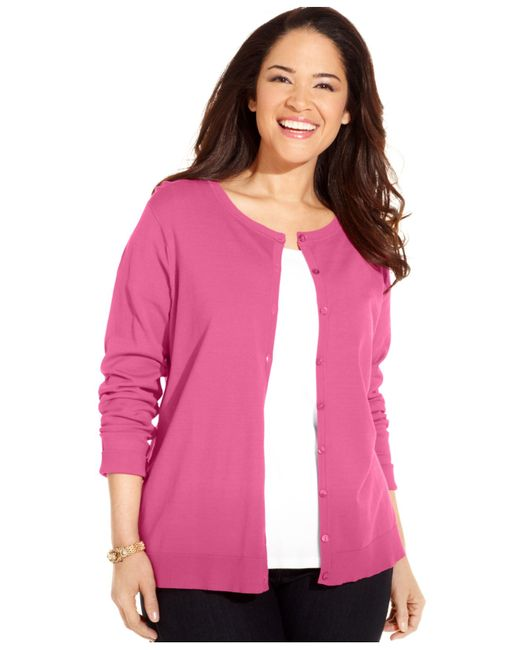 Buy New Womens Plus Size Pink Sweaters at Macy's. Shop the Latest Plus Size Pink Sweaters Online at dnxvvyut.ml FREE SHIPPING AVAILABLE! Macy's Presents: The Edit- A curated mix of fashion and inspiration Check It Out. Charter Club Plus Size Cardigan Sweater, Created for Macy's.