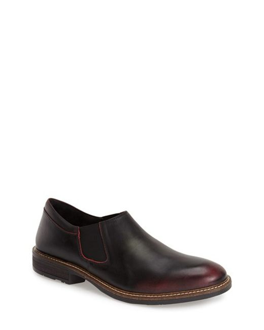 Naot | Red 'director' Venetian Slip-on for Men | Lyst