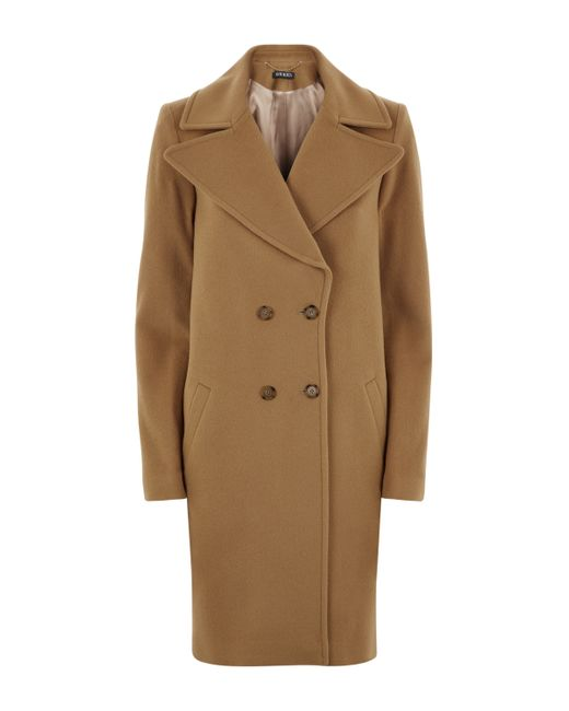Baukjen | Natural Farrah Double Breasted Coat | Lyst