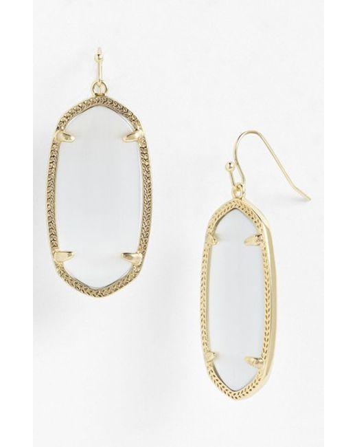 Kendra Scott | Metallic 'elle' Drop Earrings | Lyst