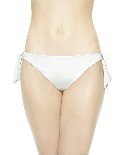 La Perla   Gray Mid-rise Bikini Briefs   Lyst