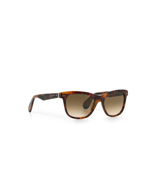 Pink Pony | Brown Square Sunglasses | Lyst