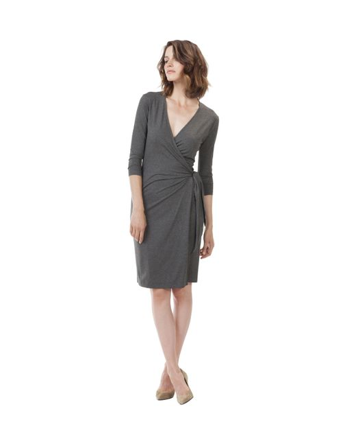 Baukjen | Gray Colwyn Wrap Dress | Lyst