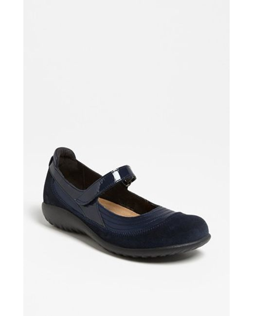 Naot | Blue 'kirei' Mary Jane | Lyst