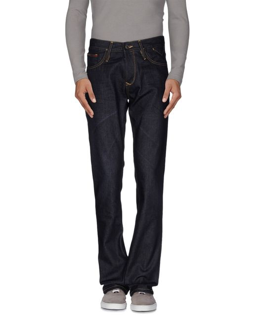 Hilfiger Denim | Blue Denim Trousers for Men | Lyst